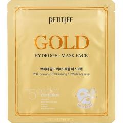 Petitfee Gold Hydrogel Mask Pack Гидрогелевая маска для лица с золотым комплексом 1шт