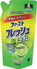 Daiichi Fresh Elegance Гель для мытья посуды, овощей и фруктов с ароматом лайма (эконом) 500мл