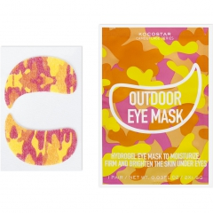 Kocostar Camouflage Hydrogel Eye Mask Гидрогелевые патчи для глаз на тканевой основе 1пара*5г