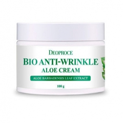 Deoproce Bio Anti-wrinkle Aloe Cream Крем от морщин с Алоэ 100г