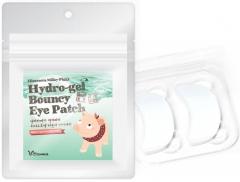 Elizavecca Hydro-gel Bouncy Eye Patch Набор патчей для глаз с жемчугом и гиалуроновой кислотой 20шт