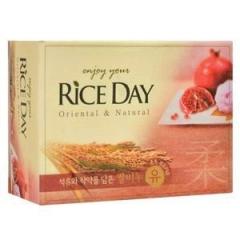 CJ Lion Rice Day Мыло с экстрактом граната и пиона 100г