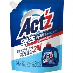 Pigeon Regular Act'z Perfect Baking soda Gel Гель для стирки белья с содой (рефил) 2.2л