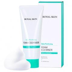 Royal Skin Очищающая пенка для умывания с коллагеном 150мл