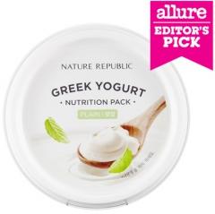 Nature Republic Greek Yogurt Nutrition Pack Plain Маска на основе греческого йогурта 130мл