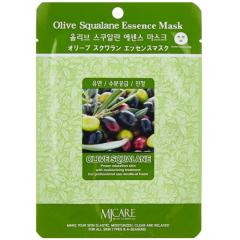 Mijin Olive Squalane Essence Mask Маска тканевая с оливой 23г