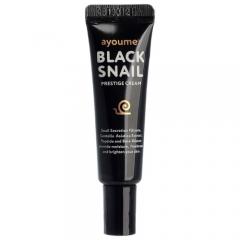 Ayoume Black Snail Prestige Cream Крем для лица муцином черной улитки 8мл