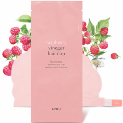 A'pieu Raspberry Vinegar Hair Cap Маска-шапочка для волос с малиновым уксусом 35г