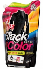 Kerasys Wool Shampoo Жидкое средство для стирки черных и цветных вещей (рефил) 1.3л