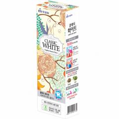 Mukunghwa Classic White Отбеливающая зубная паста с ароматом мяты и зеленого чая 110г