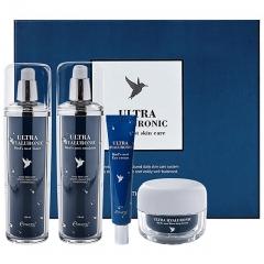 Esthetic House Ultra Hyaluronic Acid Bird's Nest Skin Увлажняющий набор 130мл+130мл+50мл+30мл