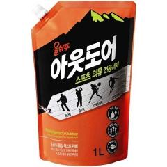 Kerasys Wool Shampoo Жидкое средство для стирки спортивной одежды и мембранных тканей (рефил) 1л