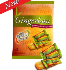 Gingerbon Имбирные конфеты с арахисовой пастой 125г
