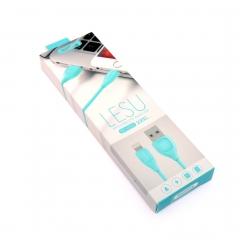 Кабель Remax LESU RC-050i голубой 1м Apple USB