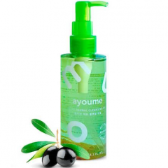 Ayoume Olive Herbal Cleansing Oil Гидрофильное масло с оливой и календулой 150мл