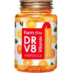 Farmstay DR.V8 Vitamin Ampoule Ампульная сыворотка с витаминами 250мл