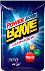Mukunghwa Power Bright Refill Type Стиральный порошок с пузырьками кислорода и содой 5кг