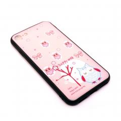 Чехол для iPhone 7/8 DLED Happy Owl розовый