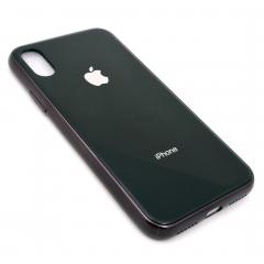 Чехол для iPhone X DLED черный с окантовкой