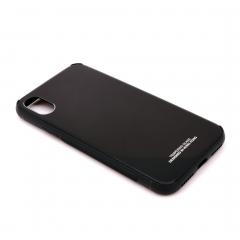 Чехол для iPhone X DLED черный Hong Kong
