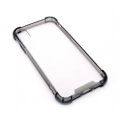 Чехол для iPhone X DLED прозрачный с рамкой