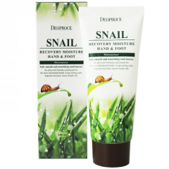 Deoproce Snail Recovery Moisure Hand&Foot Питательный крем для рук и ног с улиточной слизью 100мл
