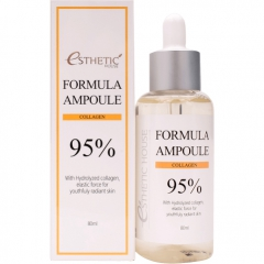 Esthetic House Formula Ampoule Collagen 95% Сыворотка с коллагеном 80мл