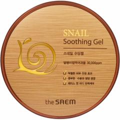 The Saem Snail Soothing Gel Увлажняющий гель с экстрактом алоэ и улиточной слизью (50%) 300мл