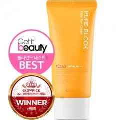A'pieu Pure Block Daily Sun Cream Солнцезащитный крем для лица SPF45/PA+++ 50мл