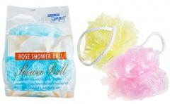 Sungbo Flower Ball Rose Shower Ball Мочалка для душа (средней жесткости) 1шт