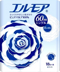 Kami Shodji Ellemoi Ароматизированная туалетная бумага 60м*4шт