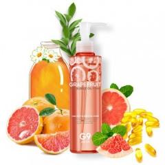 G9Skin Grapefruit Vita Bubble Oil Foam Гидрофильное масло-пенка с экстрактом грейпфрута 210г