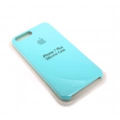 Чехол для iPhone 7+ DLED силиконовый бирюза