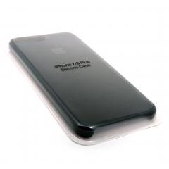 Чехол для iPhone 7/8+ DLED силиконовый черный
