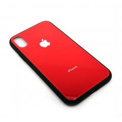Чехол для iPhone X DLED красный