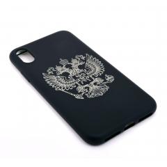 Чехол для iPhone X DLED Двуглавый орел