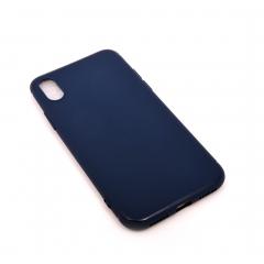 Чехол для iPhone X DLED темно-синий