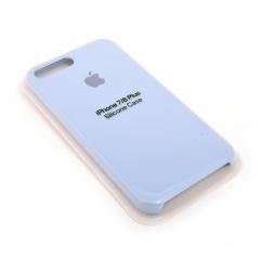 Чехол для iPhone 7/8+ DLED силиконовый белый