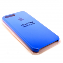 Чехол для iPhone 7+ DLED силиконовый синий