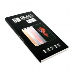 Стекло защитное DLED для iPhone 7 Plus 5D черное