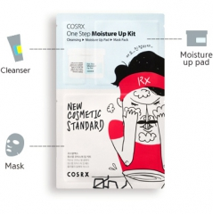Cosrx One Step Moisture Up Kit Трехступенчатый комплекс для очищения кожи 1.2мл/5мл/21мл