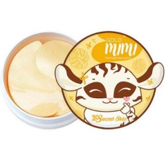 Secret Skin Gold Mimi Hydrogel Eye Patch Гидрогелевые патчи для глаз с золотом 60шт