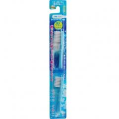 Hukuba Ion Smart Сменные головки для ионной зубной щетки компактной (средней жесткости) 2шт