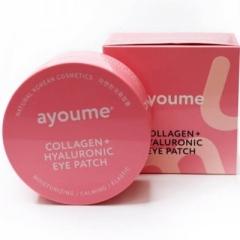Ayoume Collagen + Hyaluronic Eye Patch Гидрогелевые патчи с коллагеном и гиалуроновой кислотой 60шт