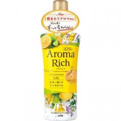 Lion Aroma Rich Bell Кондиционер для белья с ароматом цитрусов и жасмина 520мл