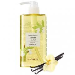 The Saem Touch On Body Vanilla Body Wash Ванильный гель для душа 300мл