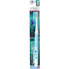 Dentalpro W Merit ZigZag Зубная щетка компактная с щетинками в 3 ряда (средней жесткости) 1шт