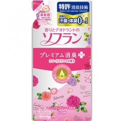 Lion Soflan Aroma Natural Кондиционер для белья с цветочным ароматом (рефил) 480мл