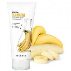 It's Skin Have a Banana Cleansing Foam Питательная пенка для умывания с бананом 150мл