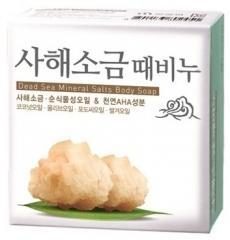 Mukunghwa Dead Sea Salt Scrab Soap Скраб-мыло с солью мертвого моря 100г